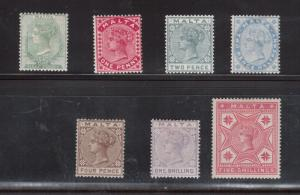 Malta #8 - #14 Very Fine Mint Original Gum Hinged