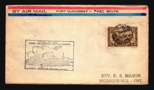 Canada 1929 FFC - Ft McMurray to Ft Smith - Z16670