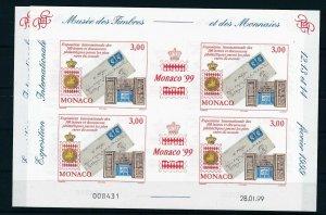 [I2690] Monaco 1999 good sheet very fine MNH imperf