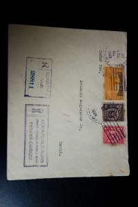 Panama Stamps 1929 Cover