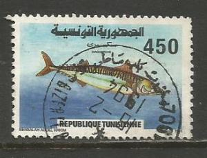 Tunisia  #993  used  (1991)  c.v. $0.60