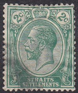 Straights Settlement 151 Hinged Used 1918 King George V