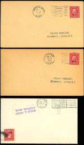 671 -  FIRST DAY COVERS - THREE DIFFERENT CITIES