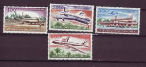 J15473 JLstamps1963 dahomey set mh #c20-3 airplanes/airport