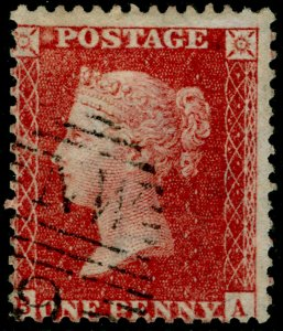 SG40, 1d rose-red PLATE 41, LC14, FINE USED. Cat £25.