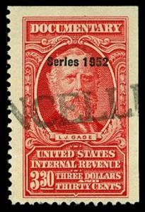 U.S. REV. DATED REDS R606  Used (ID # 62251)