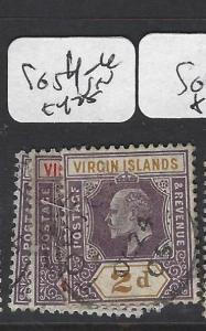 VIRGIN ISLANDS (P2105B)  KE 1/2D-2D  SG 54-6   VFU