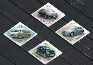 Korea 2016 Vehicles - no perforation  (MNH)  - Cars
