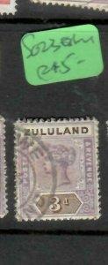 ZULULAND  (P2305B)  QV  3D  SG 23  ESHOWE      VFU