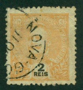 Portuguese India 1902 #200 U SCV (2018) = $0.25