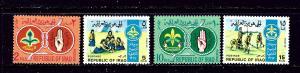 Iraq 457-60 MNH 1967 Scouting