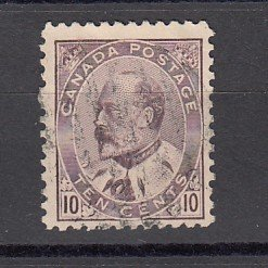 J25676 JLstamps 1903-8 canada used #93 king