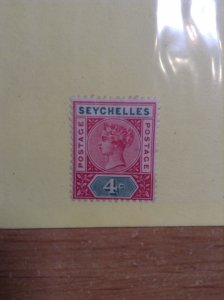 Seychelles  #  4a  MH