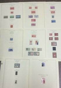 MOMEN: US STAMPS # MINT COLLECTION LOT #49417