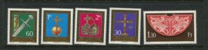 Liechtenstein #567-71 MNH - Make Me A Reasonable Offer!