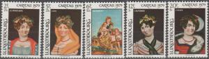 Luxembourg #B323-7 MNH F-VF CV $3.45 (SU1683)