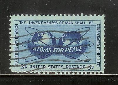 United States 1070 Set U Atoms for Peace Policy (A)