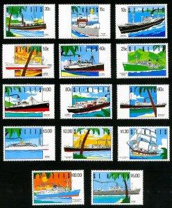 Saint Kitts Stamps # 294-307 MNH XF Scott Value $33.40