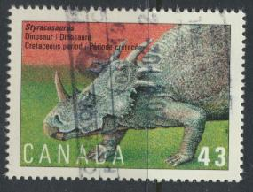 Canada SG 1569 Used SC# 1496 Dinosaur see details