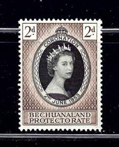 Bechuanaland 153 MNH 1953 QEII Coronation