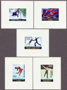 Central African Republic. 1976. 417-21 lb. Sports OI. MNH.