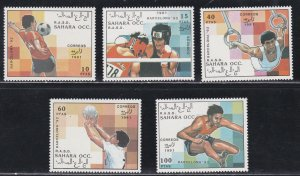 Sahara, Unlisted Olympic Stamps, Mint Never Hinged