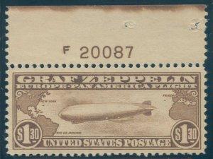 US Scott #C14 Mint, VF/XF, NH, PNS, APS