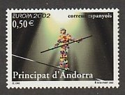 ANDORRA (SPANISH) #281 MINT NEVER HIINGED COMPLETE