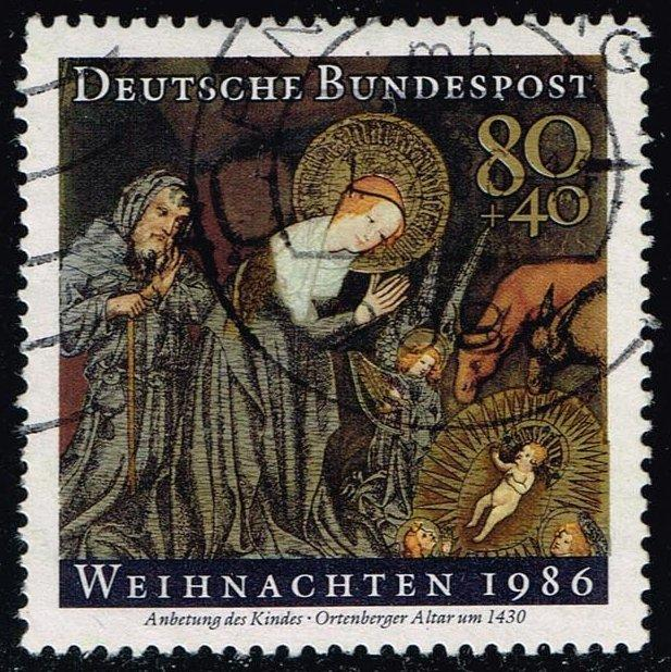Germany #B651 Christmas; Used (1.25)