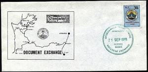 NEW ZEALAND 1988 Stampways Doc Exchange 30c on cover.......................95120