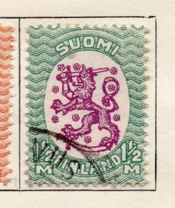 Finland 1921-26 Early Issue Fine Used 1.5M. 105528