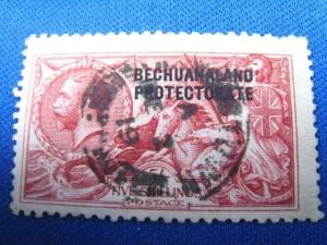 BECHUANALAND PROTECTORATE  SCOTT #93a  USED
