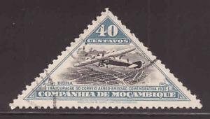 Mozambique  Company Scott 170 Used