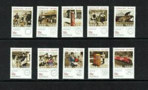 Australia: 2009, Bicentenary of Postal Services in Australia, MNH set