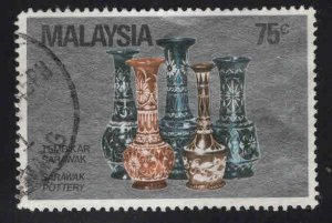Malaysia Scott 249 Used Pottery stamp