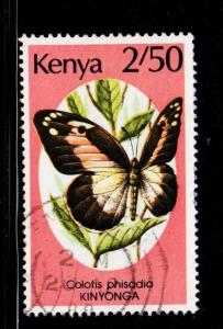 Kenya - #432 Colotis Phisadia - Used