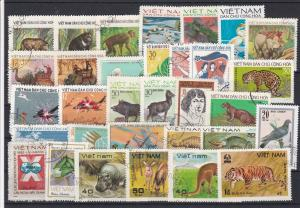 Vietnam Stamps Some Animals Ref 31498