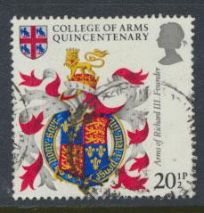 Great Britain SG 1237 - Used - College of Arms