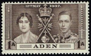 Aden #13 Coronation Issue; Unused