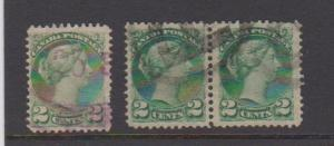 CANADA SMALL QUEEN ISSUE #36 STAMPS USED LOT#312