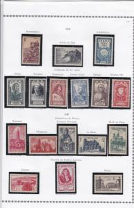 france 1946 stamps page ref 19820