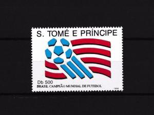 [59598] Sao Tome & Principe 1994 World Cup Soccer Football Champion MNH