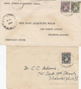 Nigeria 2 Covers 1940s