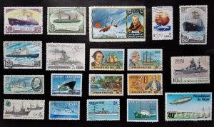 Ships, collection, Russia
