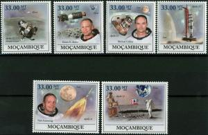 Mozambique MNH 1st Man On The Moon Apollo Space 2009