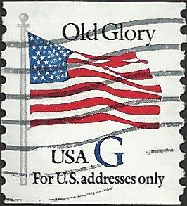 # 2890 USED G STAMP OLD GLORY
