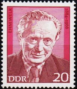 Germany(DDR). 1974 20pf  S.G.E1660 Unmounted Mint