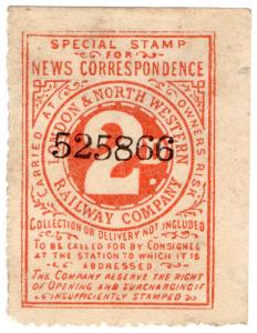 (I.B) London & North Western Railway : Special News Correspondence 2d