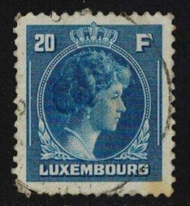 Luxembourg Scott 234 Used.