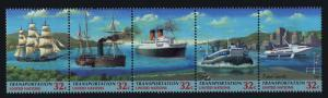 United Nations - New York 713a MNH Transportation, Ships, Hovercraft